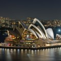 Sydney Opera House smartphone wallpaper
