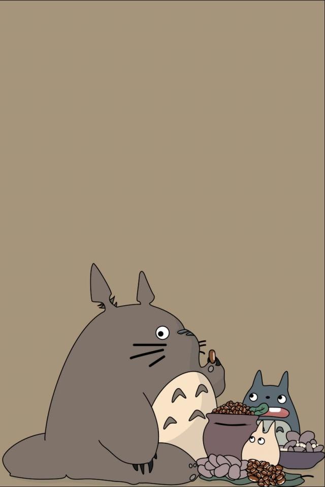 WPMy Neighbor Totoro Smartphone Wallpaper640x960totoro I13