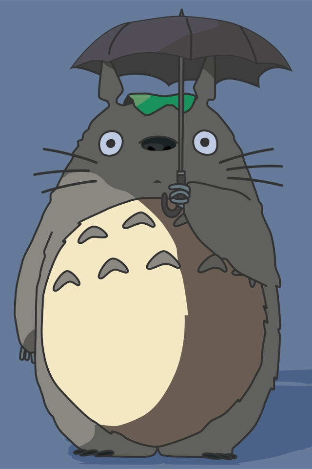 WPMy Neighbor Totoro Smartphone Wallpaper640x960totoro I16