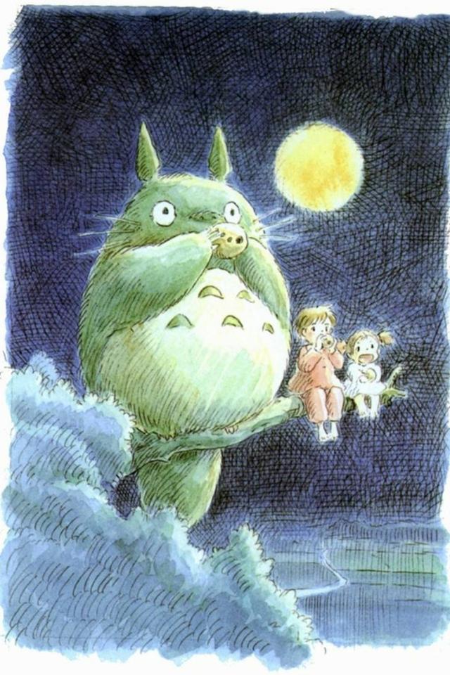 WPMy Neighbor Totoro Smartphone Wallpaper640x960totoro I19