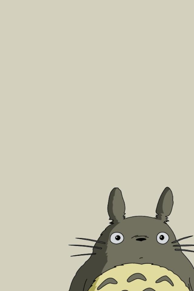 WPMy Neighbor Totoro Smartphone Wallpaper640x960totoro I25