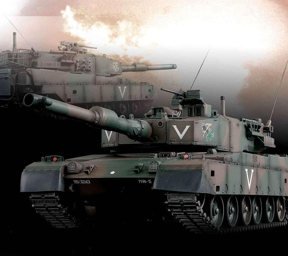 無敵そうな戦車の壁紙