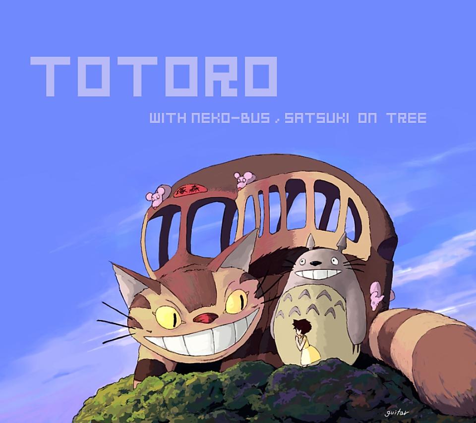 壁紙 となりのトトロのスマホ壁紙960x854 Totoro A04 Jpg 壁紙box