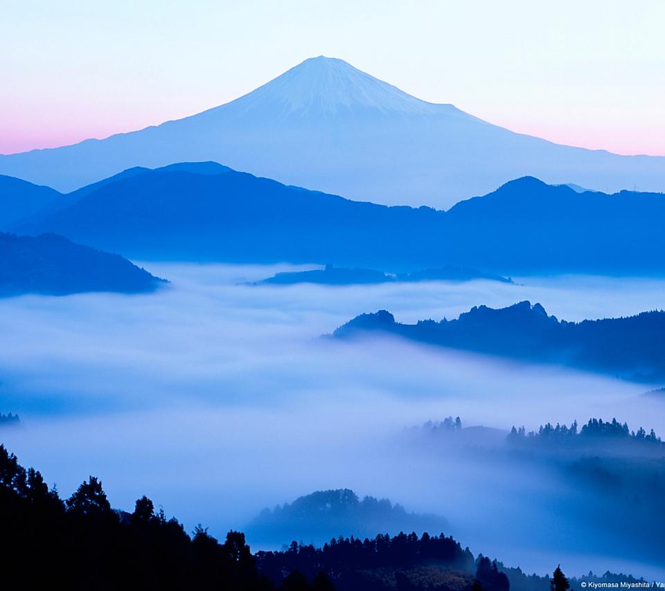 壁紙 富士山の風景のスマホ壁紙960x854 Fuji A04 Jpg 壁紙box