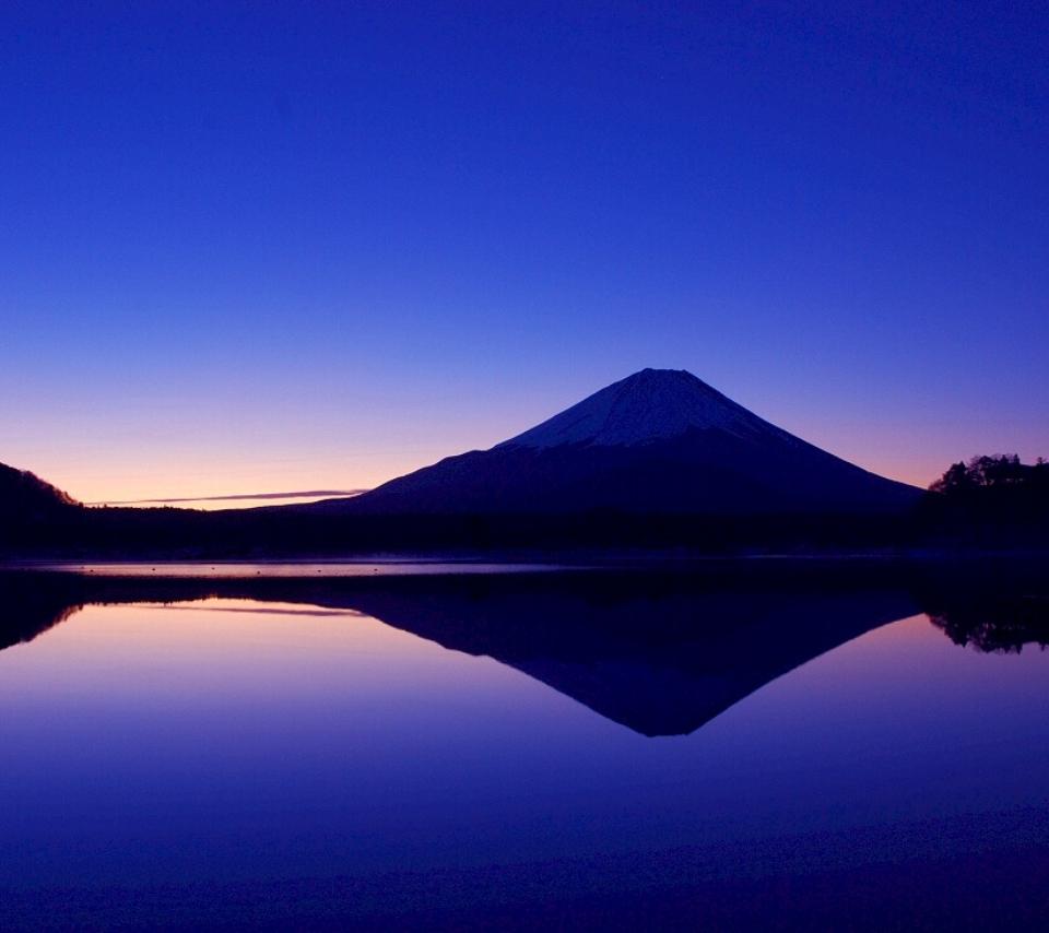 壁紙 富士山の風景のスマホ壁紙960x854 Fuji A09 Jpg 壁紙box