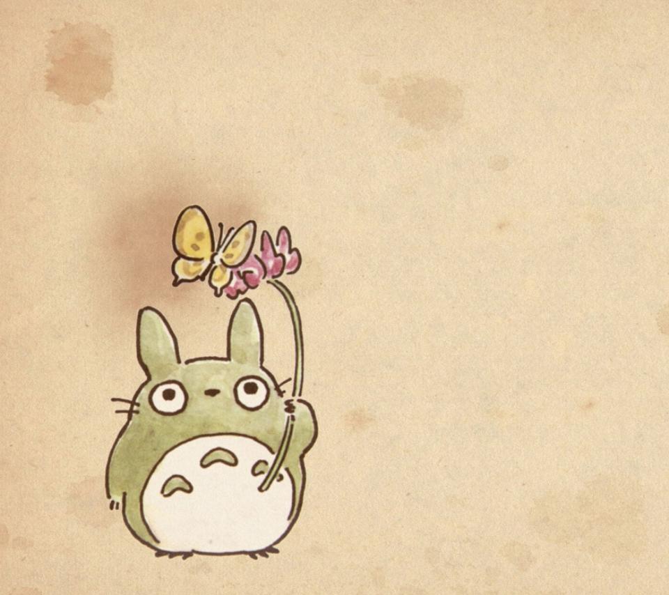 壁紙 となりのトトロのスマホ壁紙960x854 Totoro A17 Jpg 壁紙box