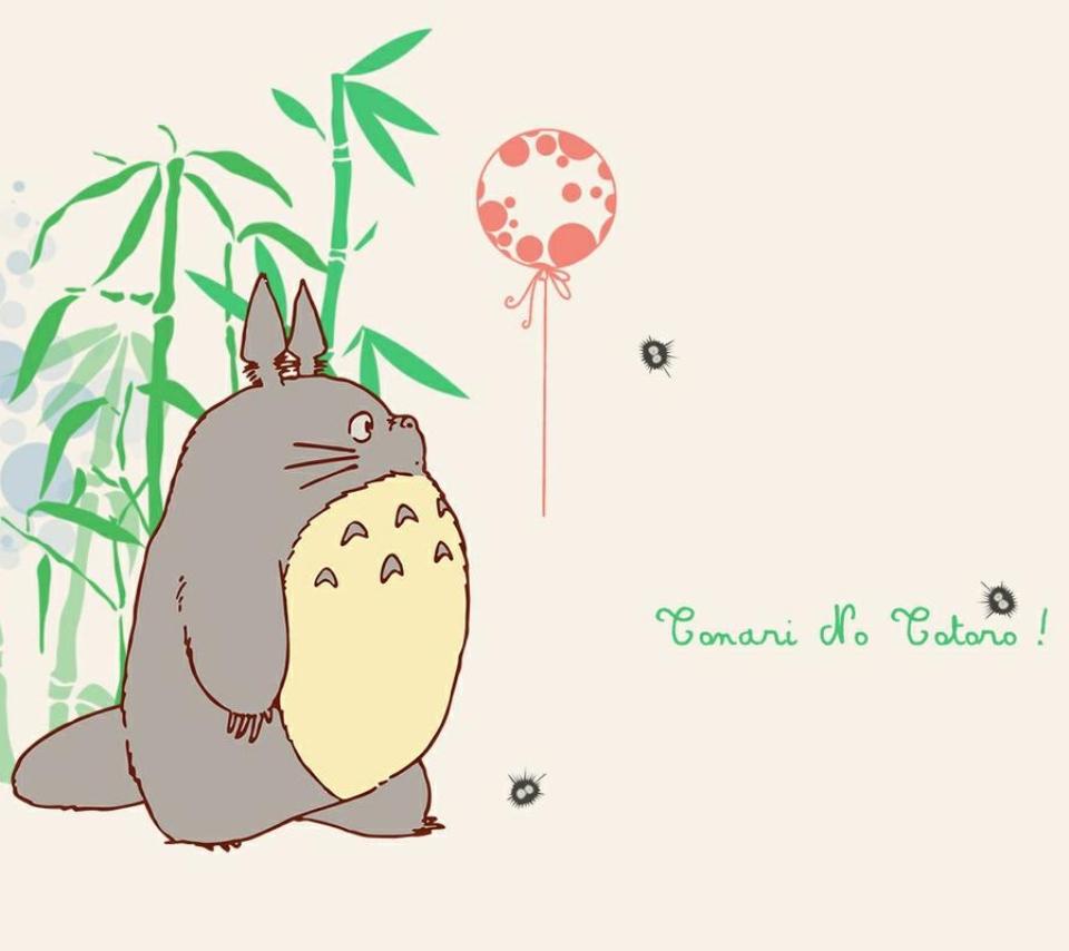 壁紙 となりのトトロのスマホ壁紙960x854 Totoro 0 Jpg 壁紙box